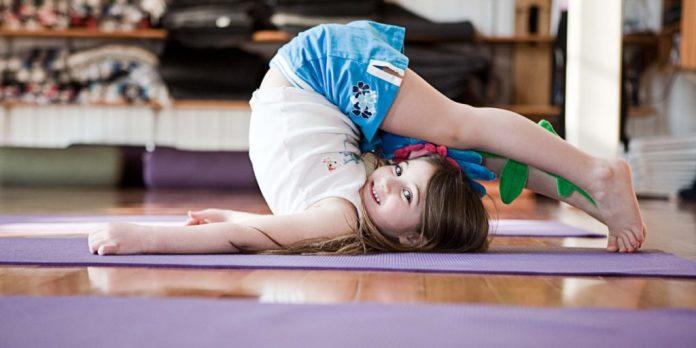 easy yoga for kids