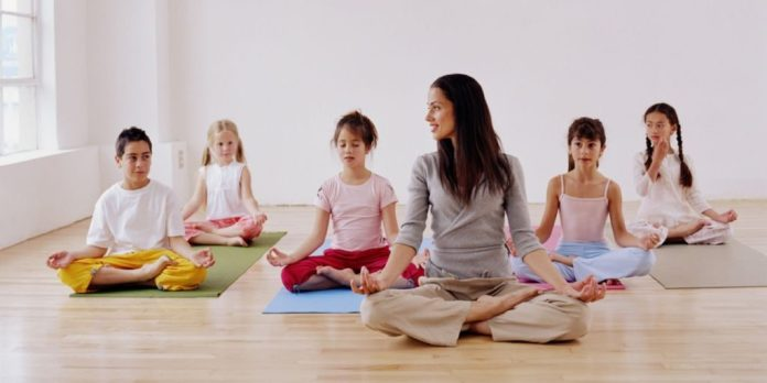simple yoga for kids