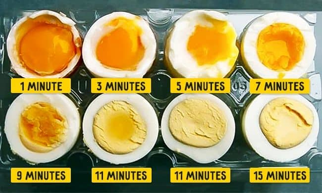 cooking hard boiled eggs